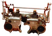 Carburettor linkage